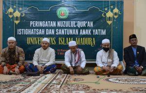 Malam Nuzulul Qur'an, UIM Pamekasan Gelar Santunan Anak Yatim