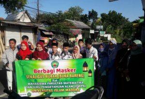 Meriahkan Ramadan, Mahasiswa MIPA UIM Gelar Baksos dan Buka Bersama