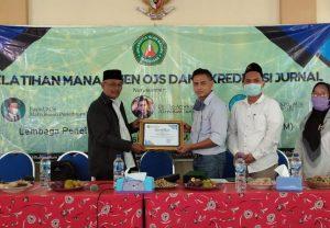 LP2M UIM Gelar Pelatihan Manajemen OJS dan Akreditasi Jurnal